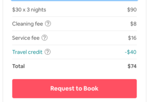 Airbnb code promo